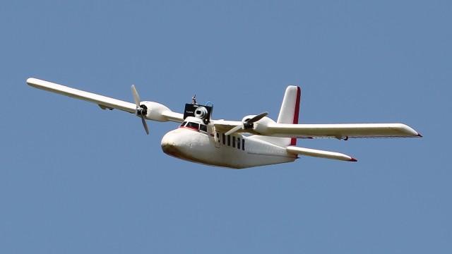 Balade aérienne le long des berges de l'Adour